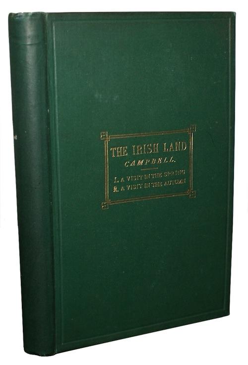 """Photo of """"The Irish land. Part I. ..."""""""