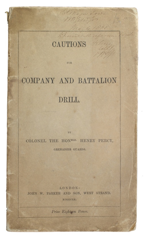 "Photo of ""Cautions for company and battalion ..."""
