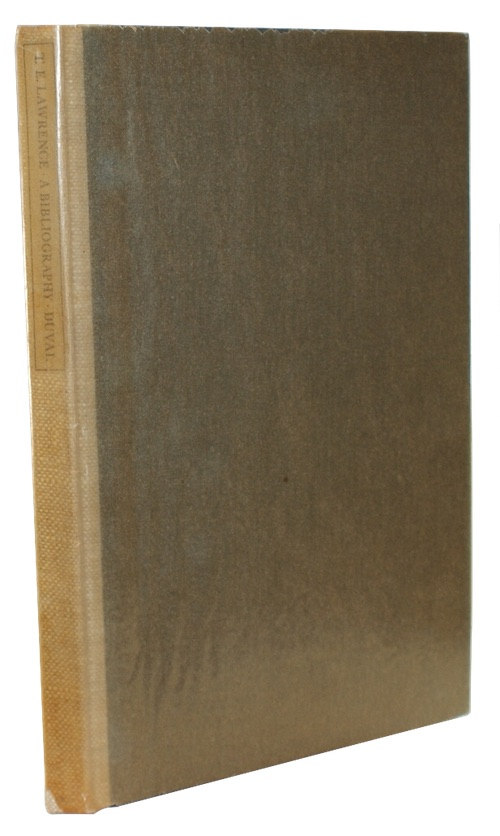 "Photo of ""T. E. Lawrence: A bibliography"""