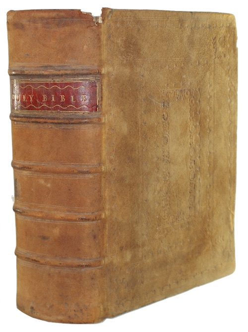 [BIBLE - English, Authorized Version] - The holy bible, Conteyning the Old Testament and t...