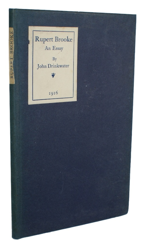 """Photo of """"Rupert Brooke: an essay"""""""