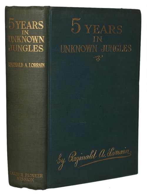 """Photo of """"Five years in unknown jungles ..."""""""