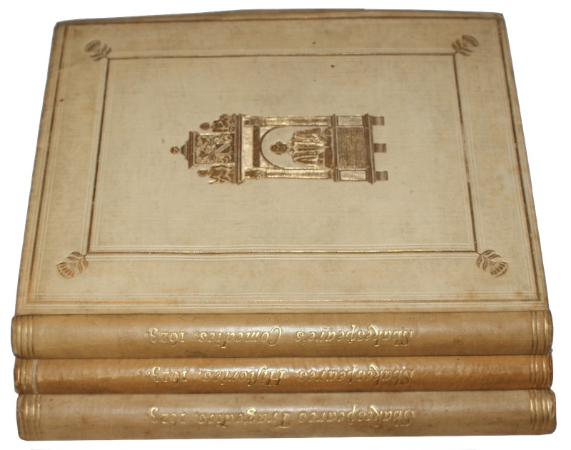 SHAKESPEARE, William - Shakespeare: a reprint of his collected works As put forth in 1623
