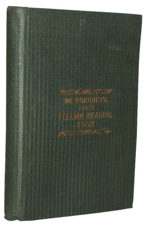 "Photo of ""De porquet's first italian reading ..."""