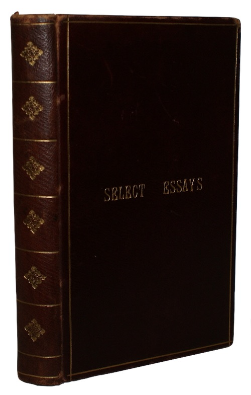 "Photo of ""Select essays from the encyclopedy, ..."""