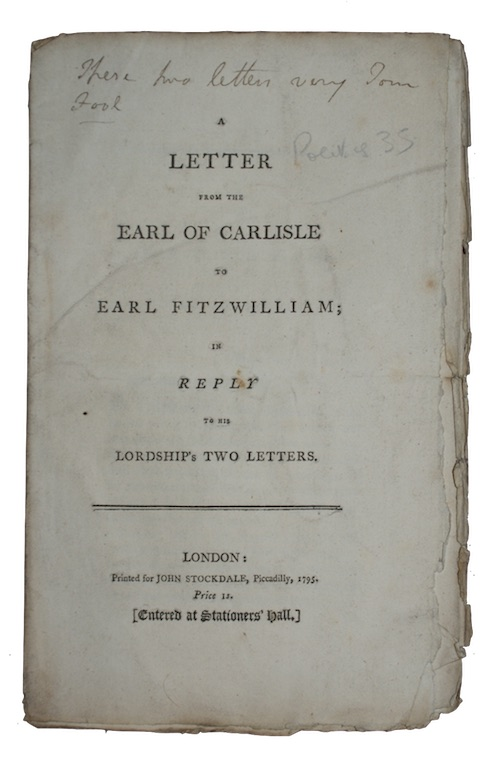 "Photo of ""A letter from the earl ..."""