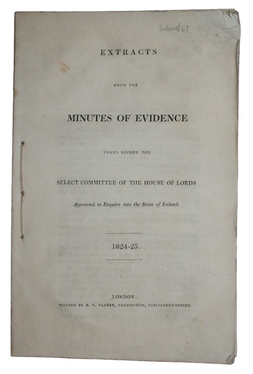 "Photo of ""Extracts from the minutes of ..."""