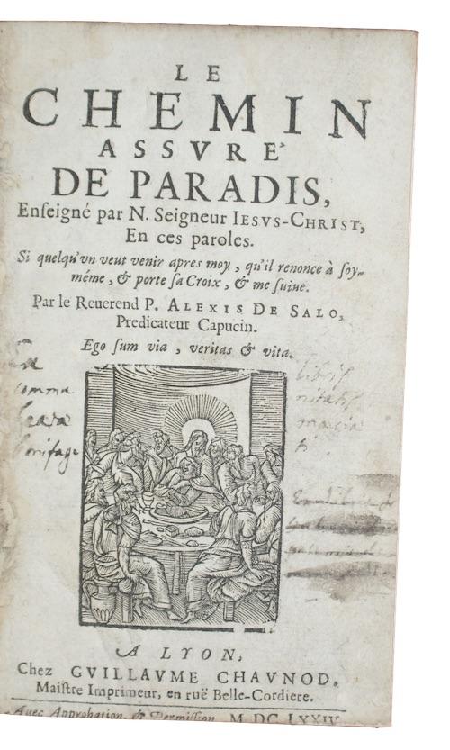 """Photo of """"Le chemin assure de paradis, ..."""""""