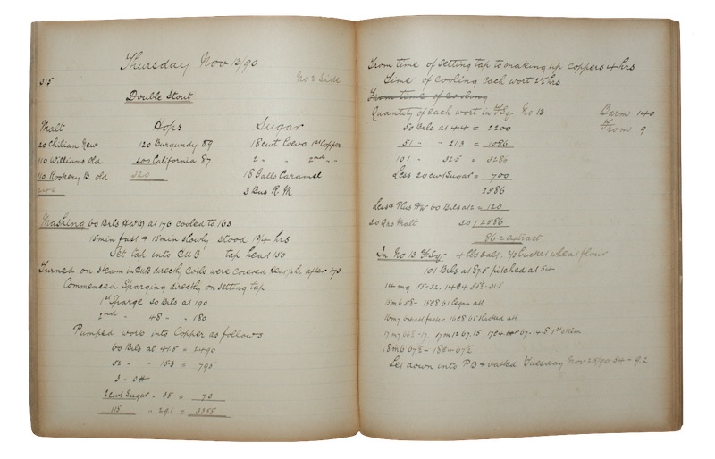 """Photo of """"[A manuscript daybook of brewers ..."""""""