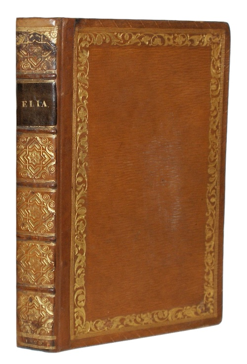 [LAMB, Charles] - Elia. Essays which have appeared under that signature in the london maga...
