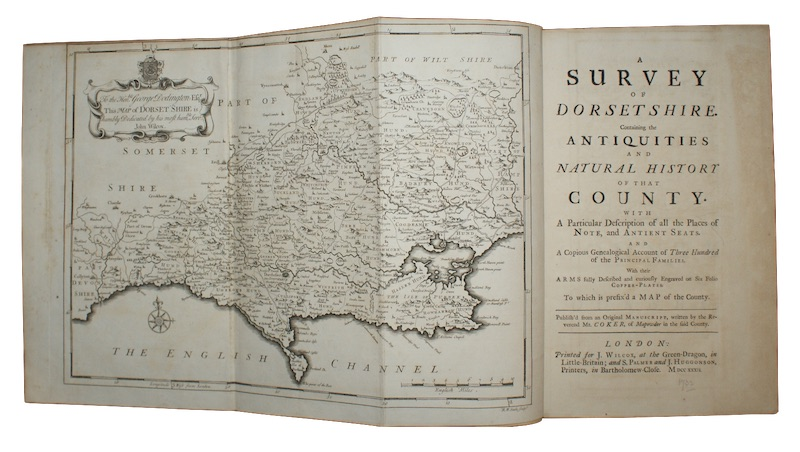 "Photo of ""A survey of dorsetshire. Containing ..."""