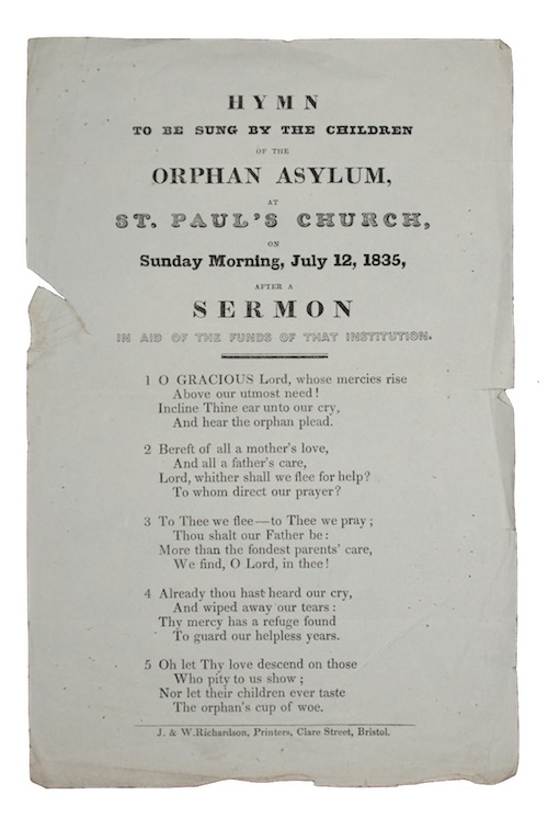 """Photo of """"Hymn to be sung by ..."""""""