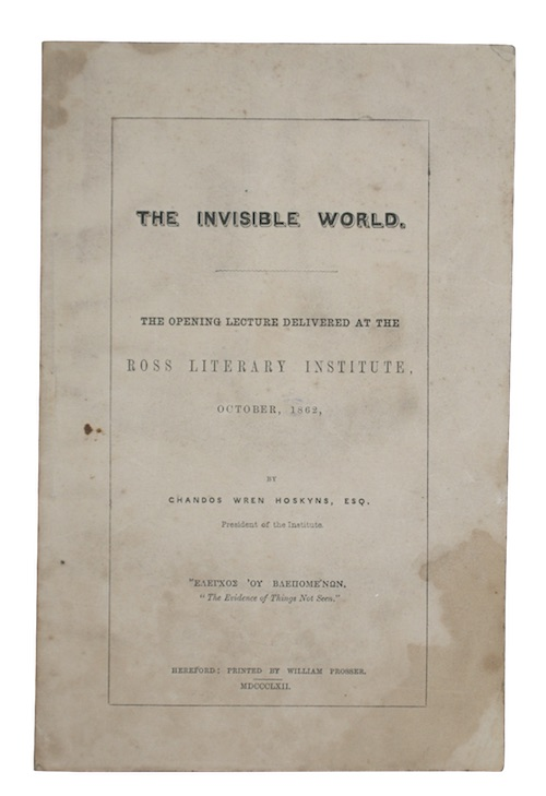 "Photo of ""The Invisible world. The opening ..."""