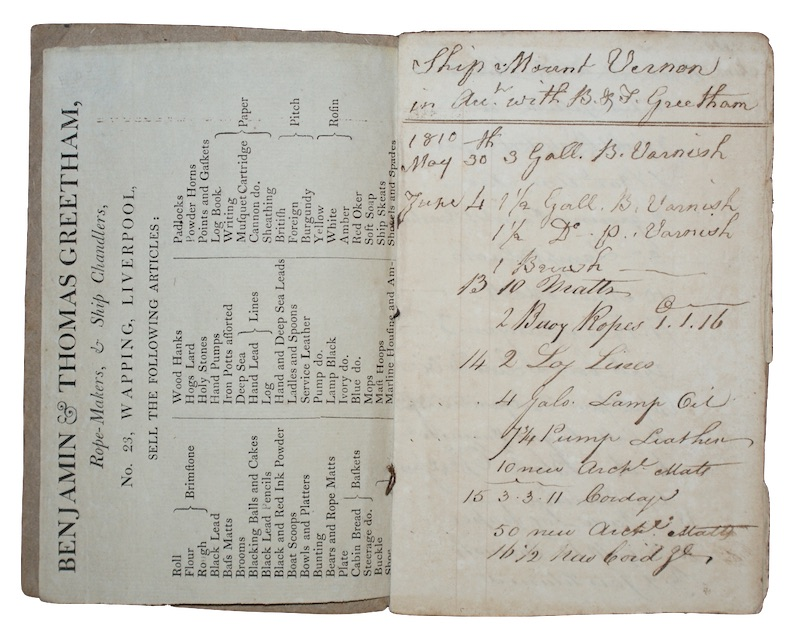 "Photo of ""[An early nineteenth-century manuscript notebook ..."""