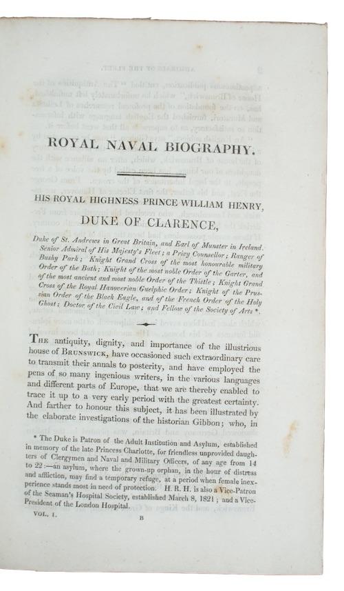 "Photo of ""Royal naval biography; or, Memoirs ..."""