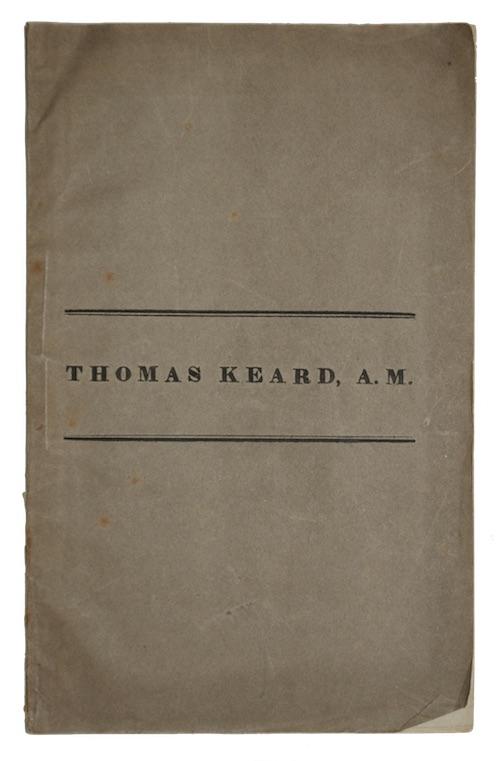 "Photo of ""Thomas Keard, A. M."""