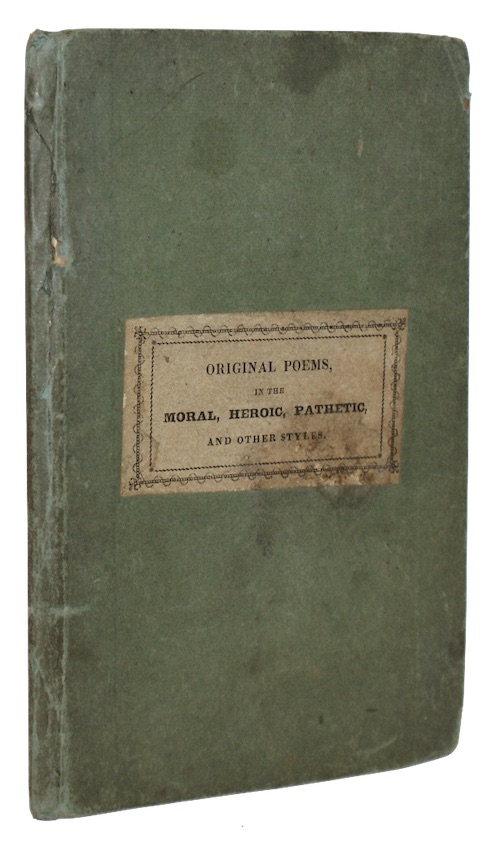 "Photo of ""Original poems, in the moral, ..."""