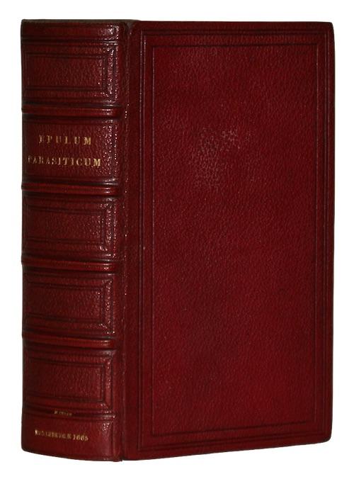 """Photo of """"Epulum parasiticum, Quod eruditi conditores, ..."""""""