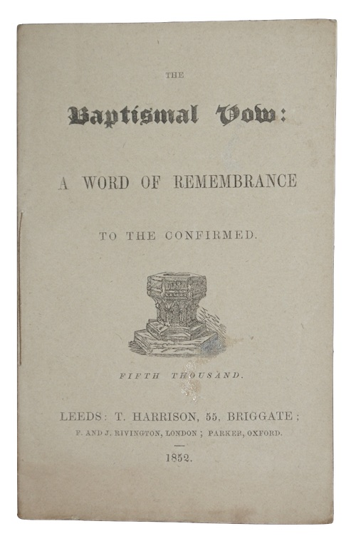 "Photo of ""The Baptismal Vow: a word ..."""