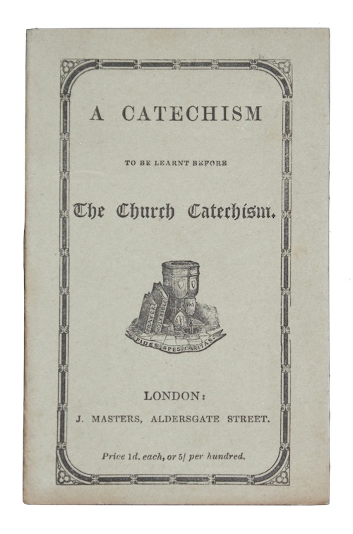 "Photo of ""A catechism to be learnt ..."""