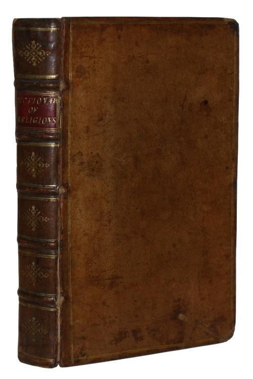 """Photo of """"Dictionarium Sacrum seu Religiosum. A ..."""""""