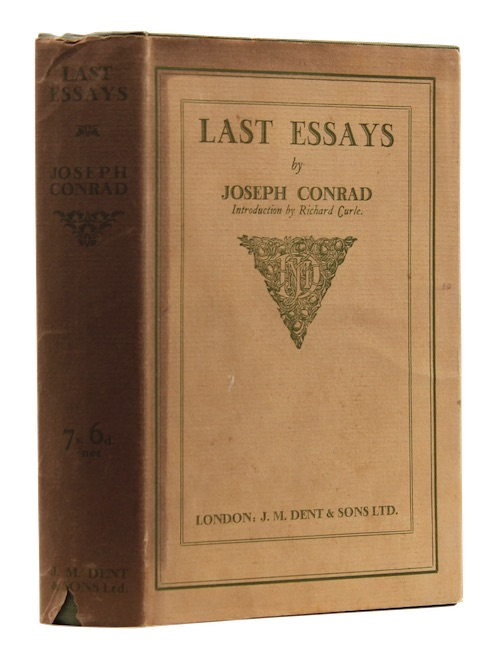 "Photo of ""Last essays"""