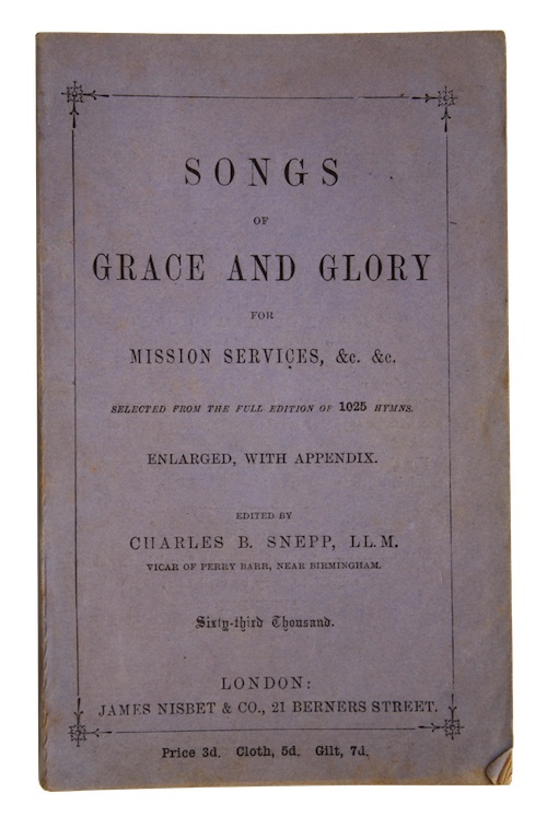 "Photo of ""Songs of grace and glory ..."""