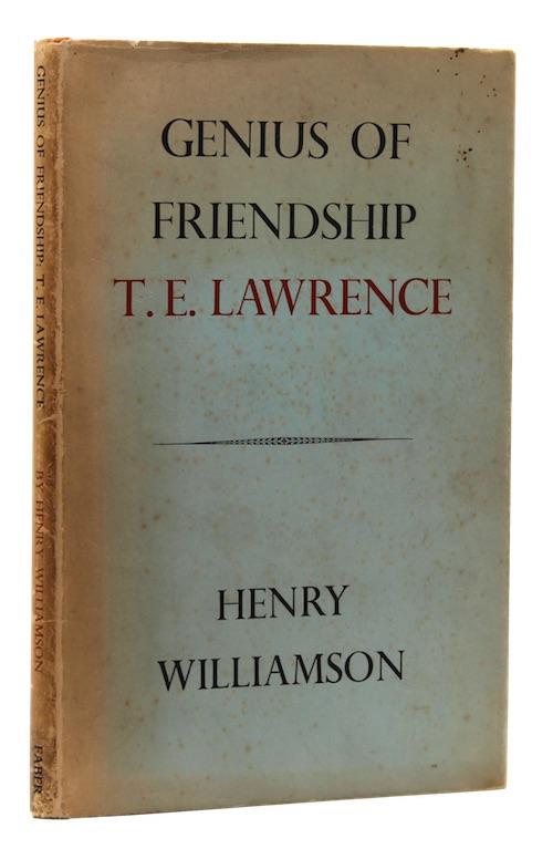 """Photo of """"Genius of friendship: 'T. E. ..."""""""