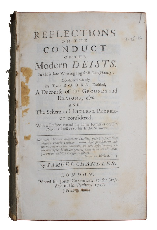 "Photo of ""Reflections on the conduct of ..."""
