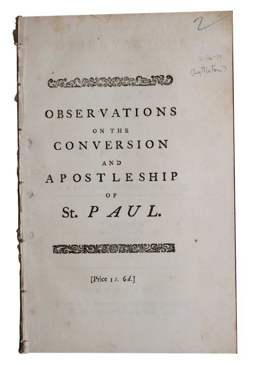 "Photo of ""Observations on the conversion and ..."""