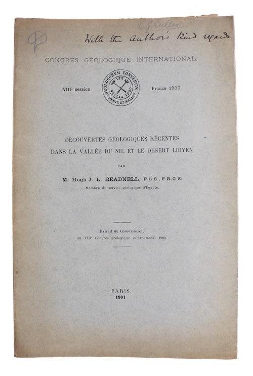 """Photo of """"Decouvertes geologiques recentes dans la ..."""""""
