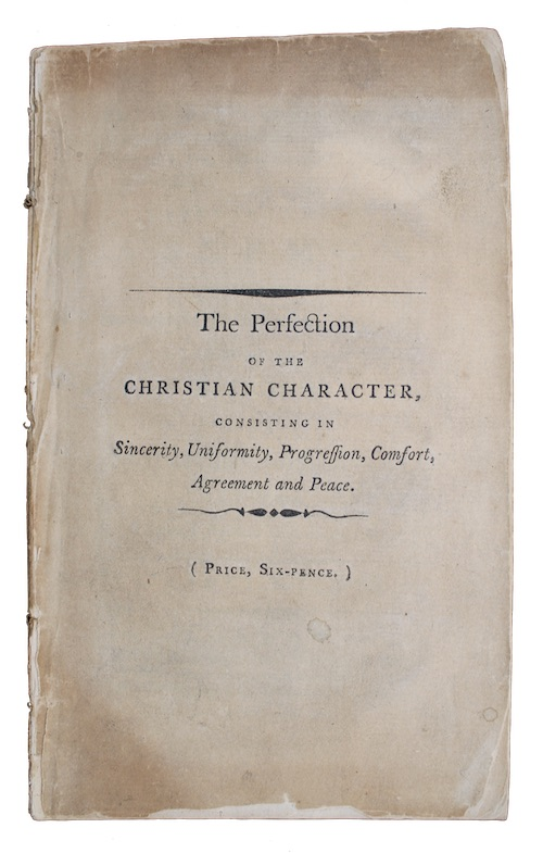 """Photo of """"The Perfection of the Christian's ..."""""""
