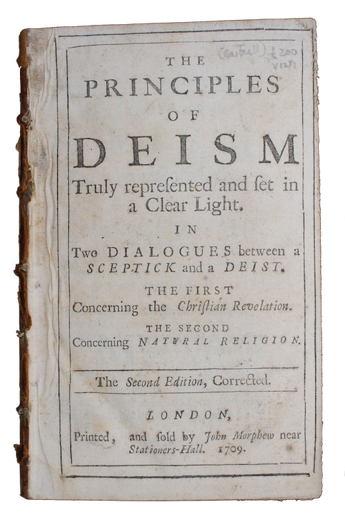 "Photo of ""The principles of deism Truly ..."""