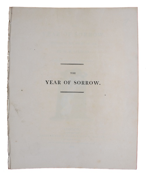 "Photo of ""The year of sorrow. Written ..."""