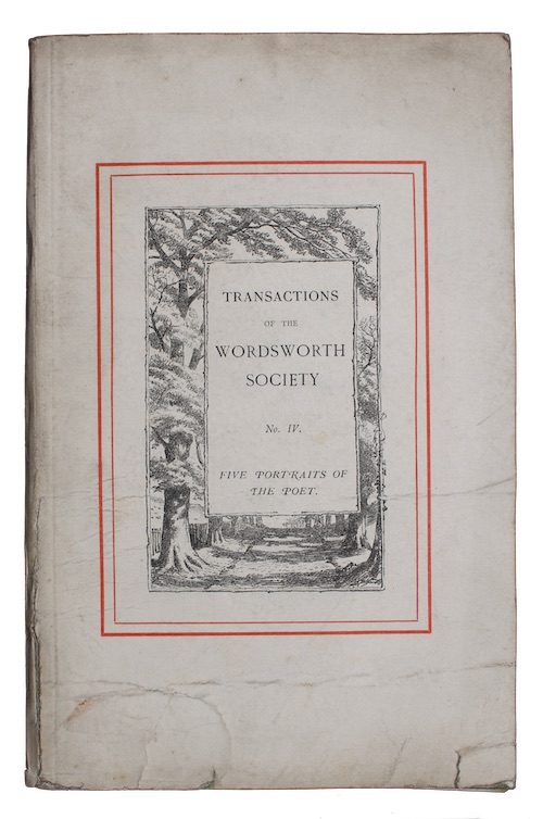 "Photo of ""Transactions of the wordsworth society ..."""