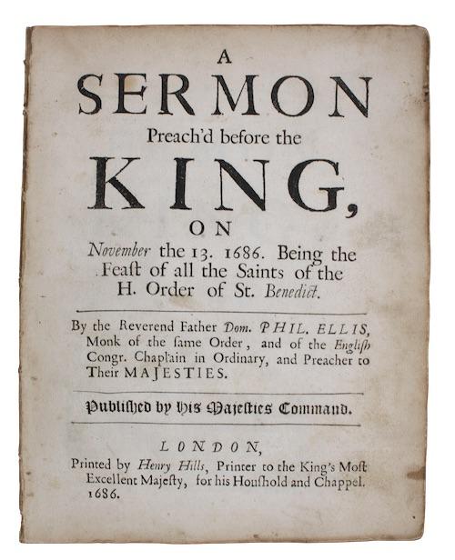"""Photo of """"A sermon Preach'd before the ..."""""""