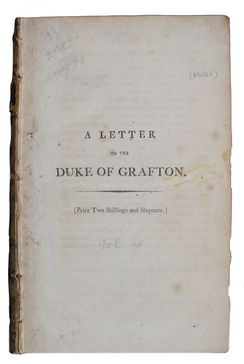 "Photo of ""A letter to the duke ..."""