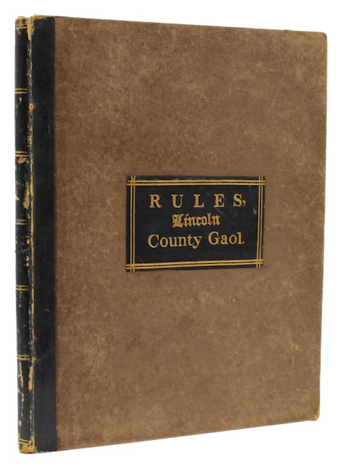 "Photo of ""Rules for the government of ..."""