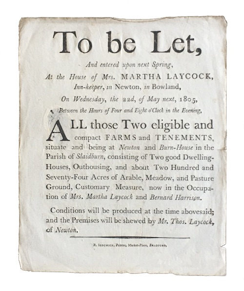"Photo of ""To be Let, And entered ..."""