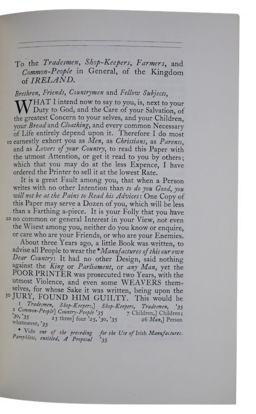 """Photo of """"The Drapier's Letters to the ..."""""""