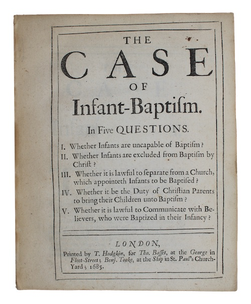 "Photo of ""The case of Infant-Baptism. In ..."""