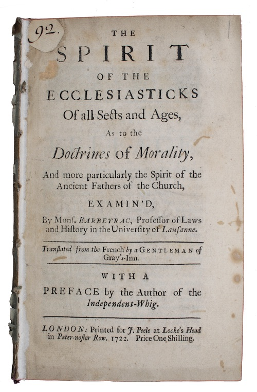 "Photo of ""The spirit of the ecclesiasticks ..."""
