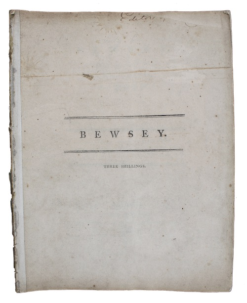 "Photo of ""Bewsey, a poem"""