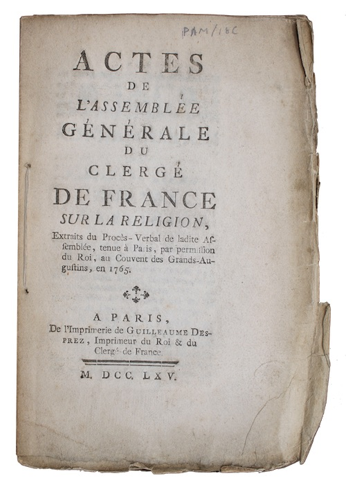 "Photo of ""Actes de l'assemblee generale du ..."""