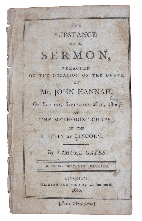 "Photo of ""The substance of a sermon, ..."""
