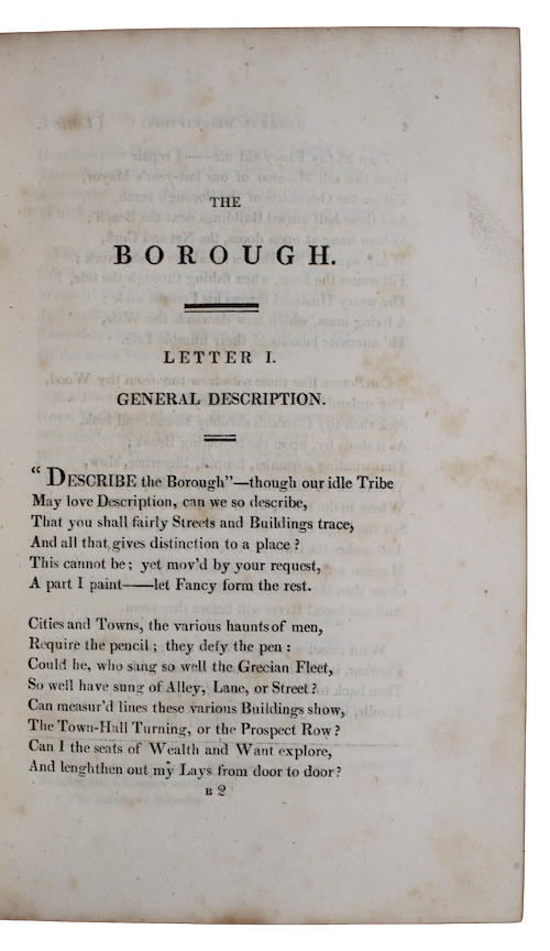 "Photo of ""The borough: a poem, in ..."""