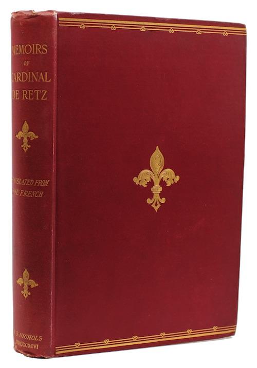 """Photo of """"Memoirs of the cardinal de ..."""""""