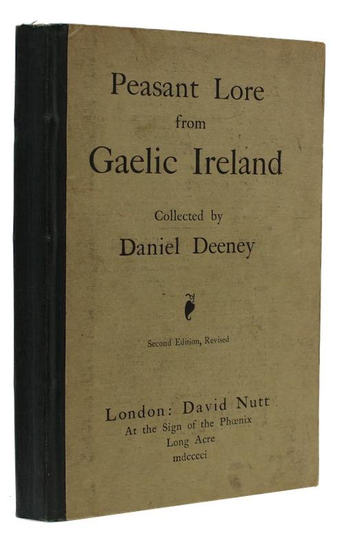 "Photo of ""Peasant Lore from Gaelic Ireland"""