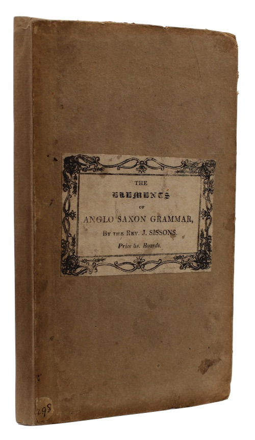 "Photo of ""The elements of Anglo-Saxon Grammar: ..."""
