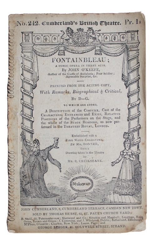 "Photo of ""Fontainbleau: a comic opera, In ..."""